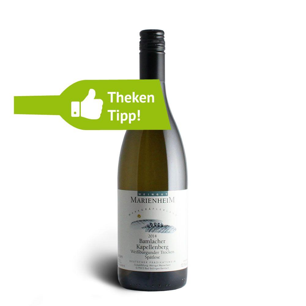 Weingut Marienheim Weißburgunder trocken Spätlese 2014 - Weingut Marienheim