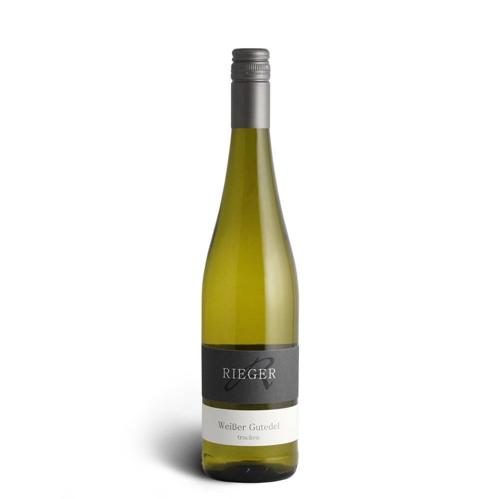 Weingut Rieger Weißer Gutedel trocken 2017– Weingut Rieger