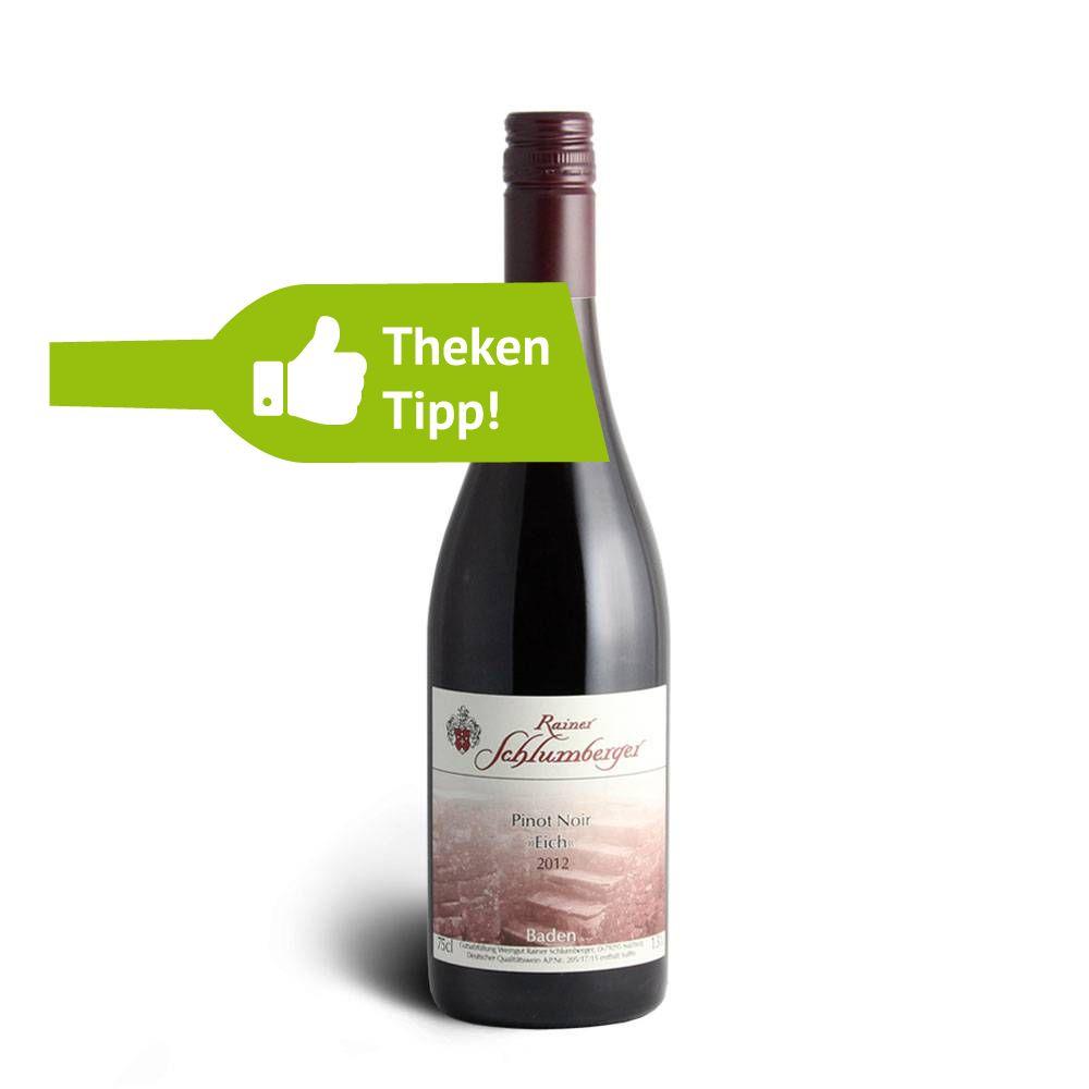 """Weingut Rainer Schlumberger 2012er Pinot Noir """"Eich"""" - Weingut Rainer Schlumberger"""