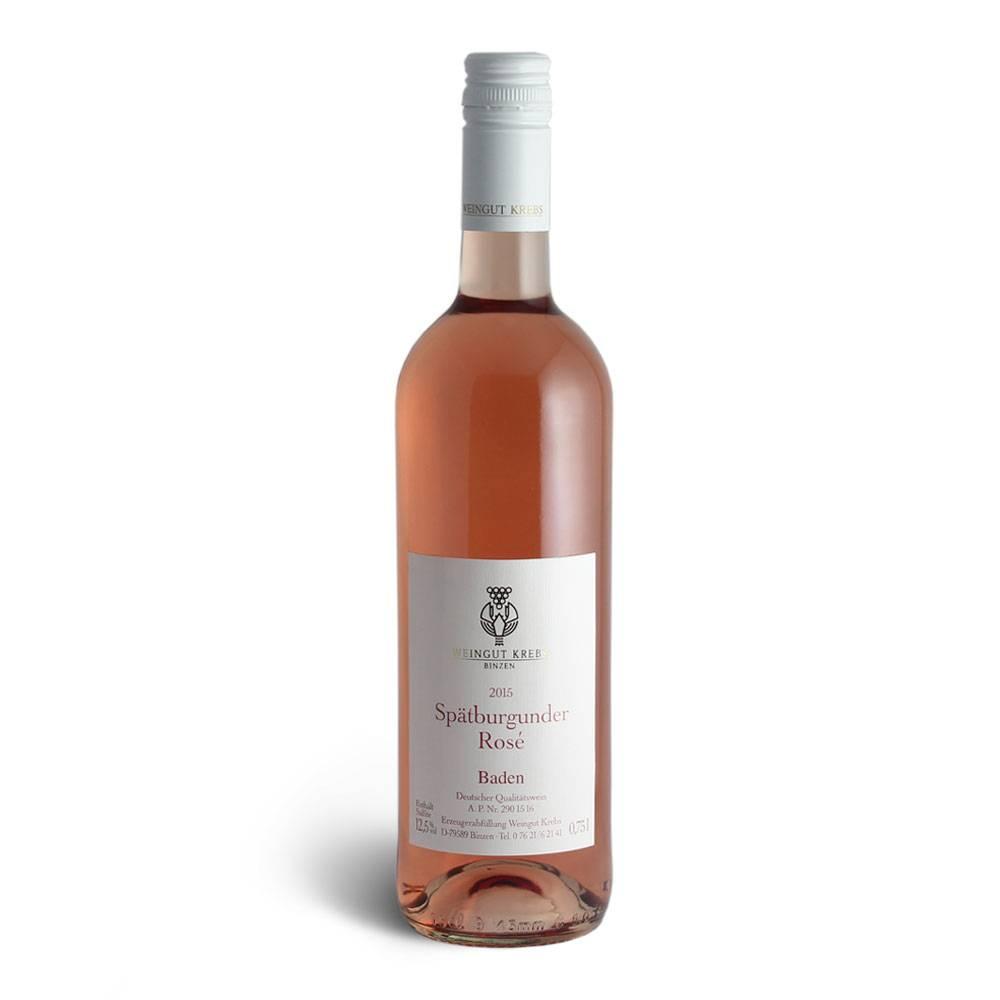 Weingut Krebs Spätburgunder Rosé 2016 - Weingut Krebs