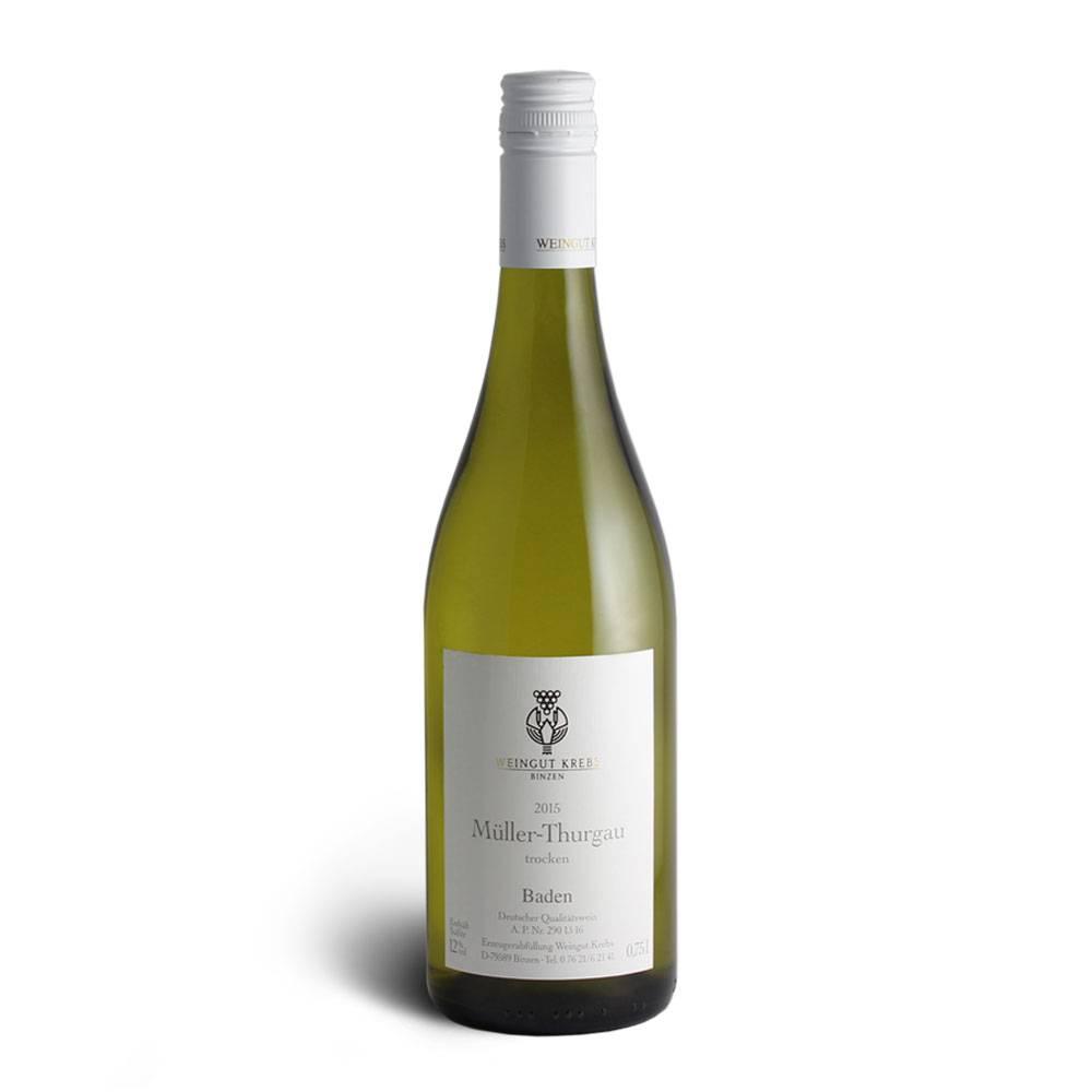 Weingut Krebs Müller-Thurgau 2015er - Weingut Krebs