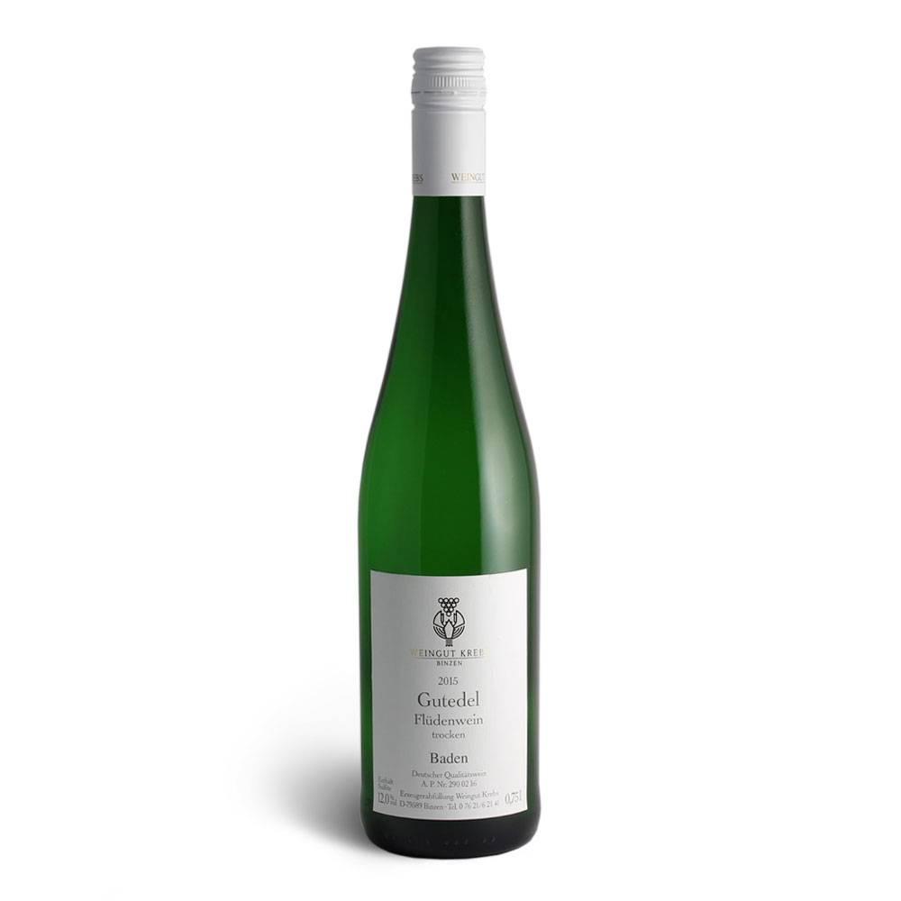 Weingut Krebs Gutedel Flüdenwein trocken 2016 - Weingut Krebs