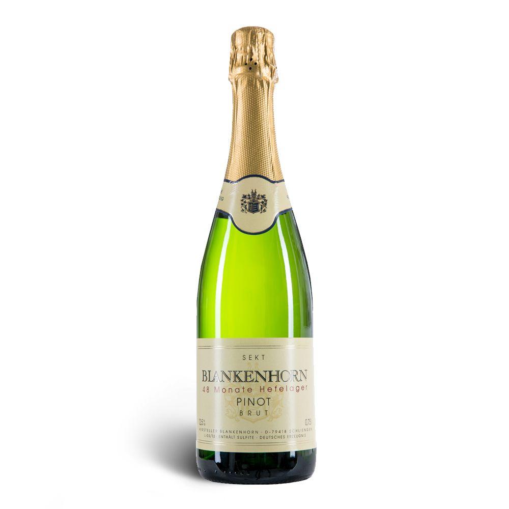 Weingut Blankenhorn VDP Pinot Sekt brut 48 Monate Hefelager – Weingut Blankenhorn