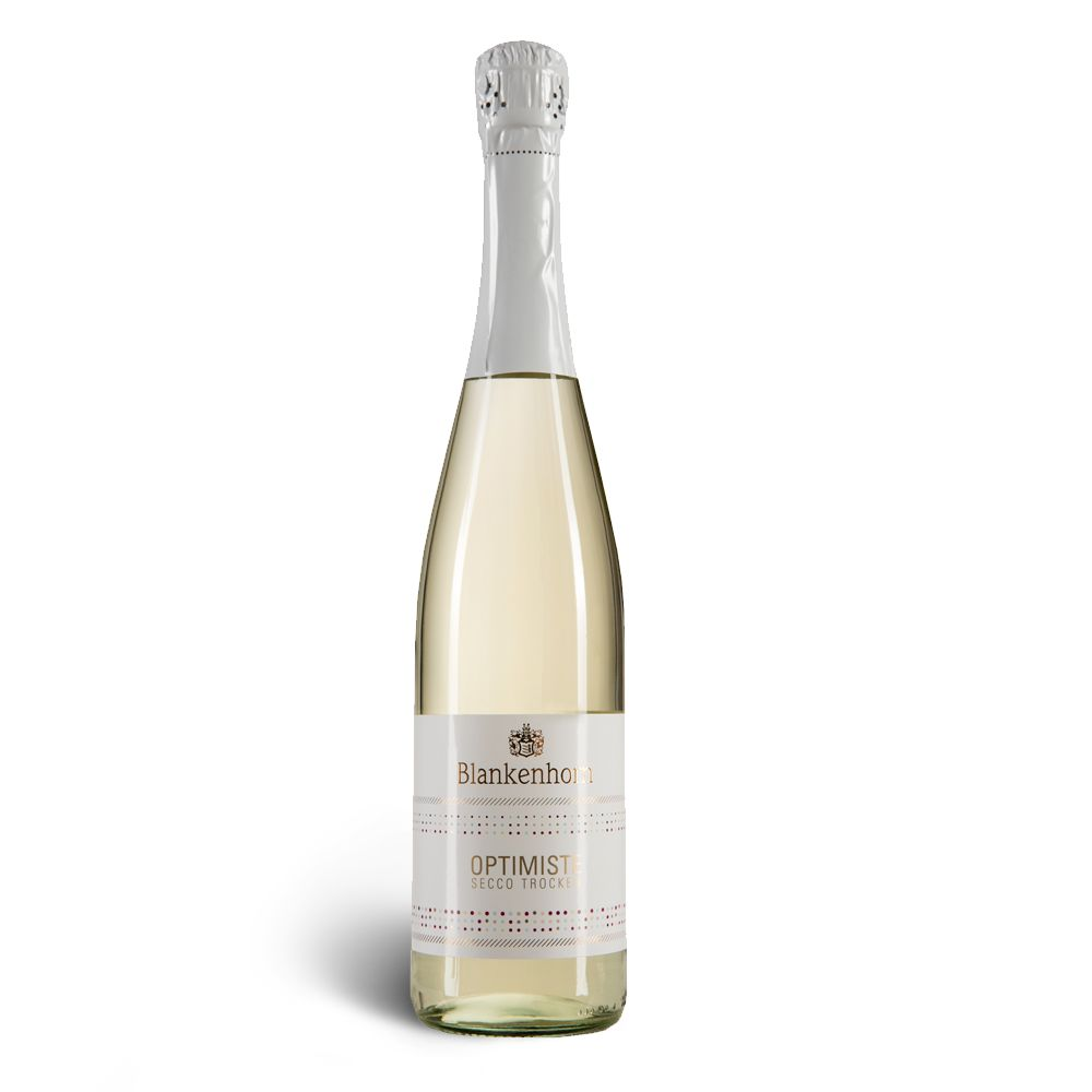 Weingut Fritz Blankenhorn OPTIMISTE Secco (auch im 6er Vorteilspack) – Weingut Blankenhorn
