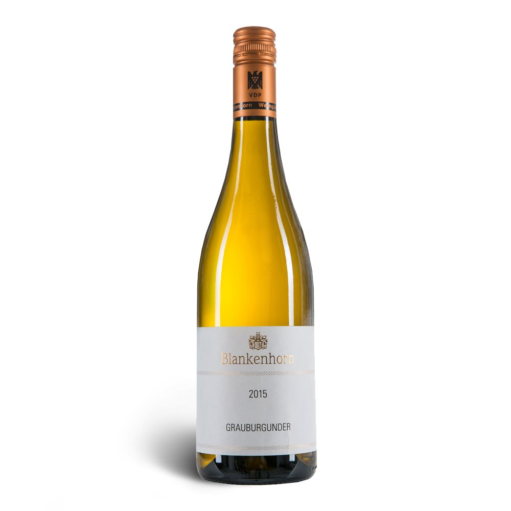 Weingut Blankenhorn VDP 20% Rabatt: Grauburgunder VDP.Gutswein  trocken 2015 – Weingut Blankenhorn