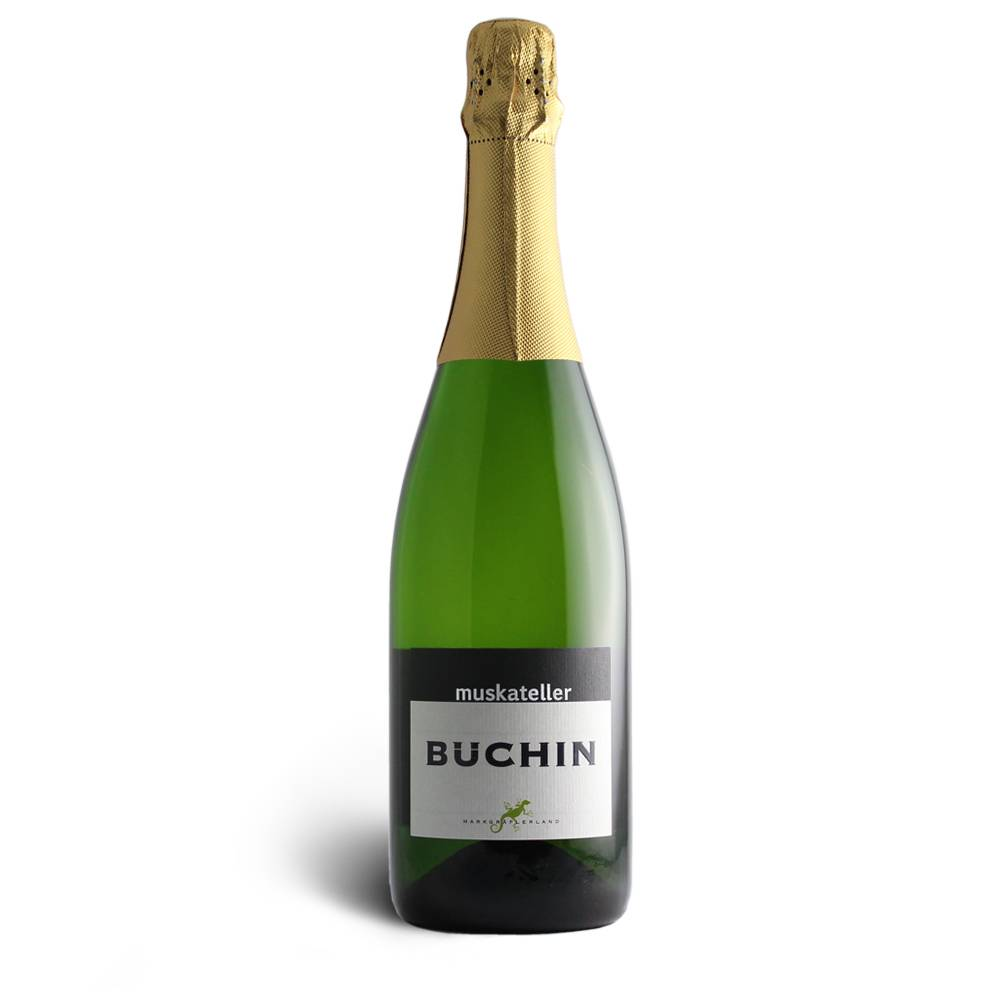 Weingut Büchin Muskateller Sekt Brut - Weinhaus Büchin