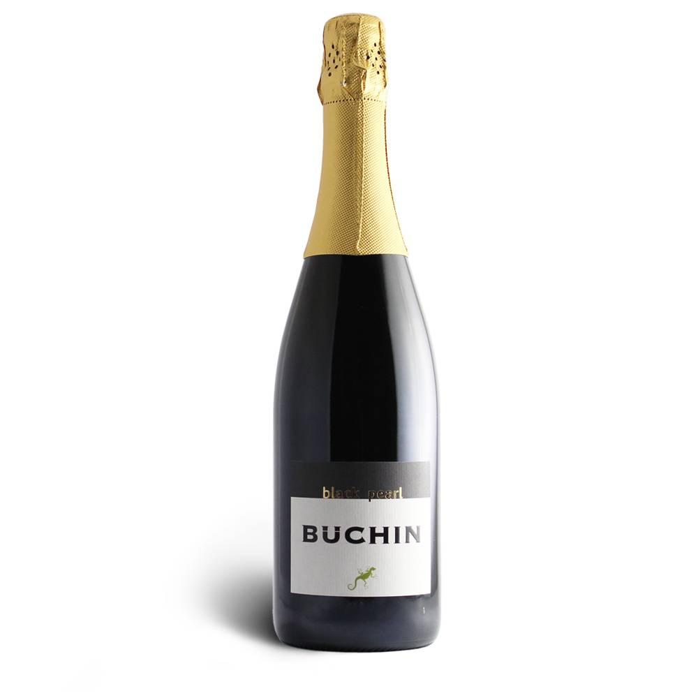 Weingut Büchin Black Pearl - EINZIGARTIG Roter Sekt aus Syrah, trocken - Weinhaus Büchin