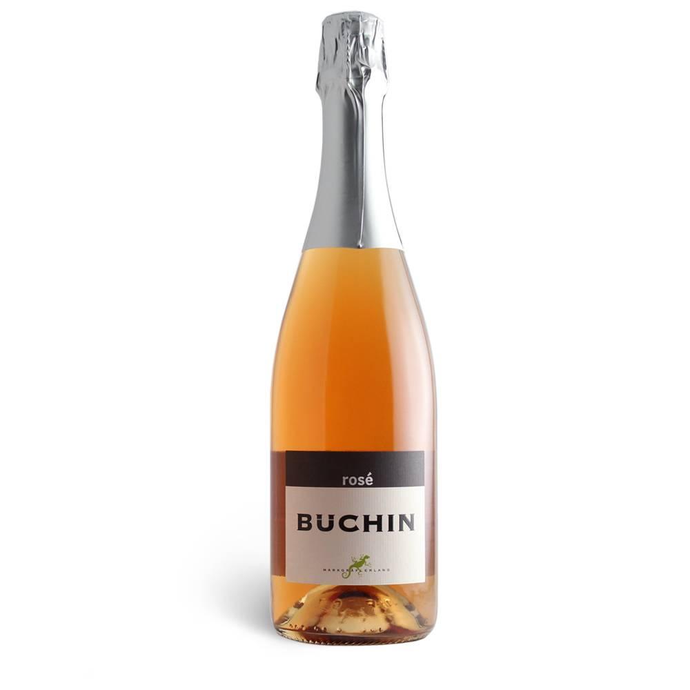Weingut Büchin Rosé Sekt trocken - Weinhaus Büchin