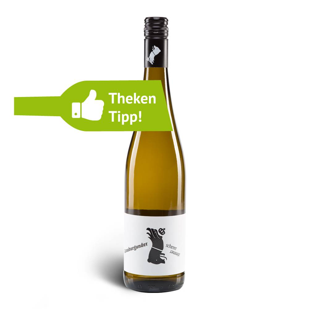 Weingut Scherer Grauburgunder trocken 2016 – Weingut Scherer Zimmer