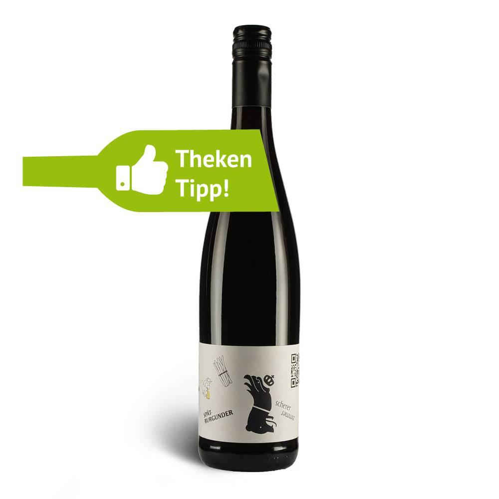 Weingut Scherer Spätburgunder Badischer Rotwein Vegan 2011er trocken, 3 Sterne Selection – Weingut Scherer Markgräflerland