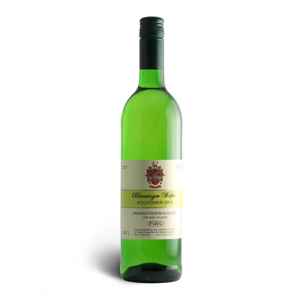 Weingut Claudia Straub Souvignier gris Auslese ***PiWi*** Blansinger Wolfer - Weingut Claudia Straub
