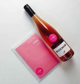 """Weingut Büchin LadyLESE Wein-Poesie Geschenkset: """"PINK & pinki"""""""