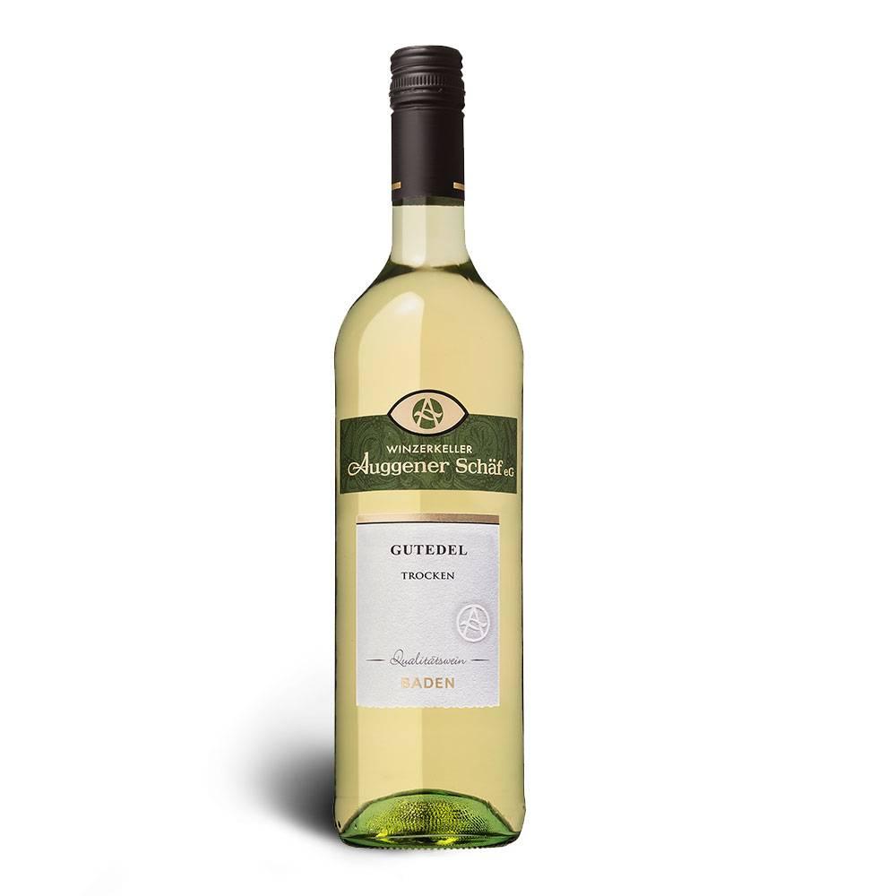 Winzerkeller Auggener Schäf Gutedel, Qualitätswein trocken 2017 - Winzerkeller Auggener Schäf