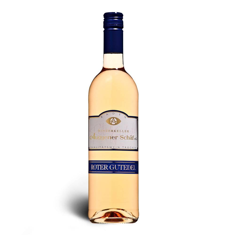 Winzerkeller Auggener Schäf Roter Gutedel Qualitätswein trocken, Maischegärung 2015 - Winzerkeller Auggener Schäf