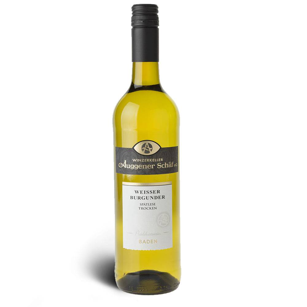 Winzerkeller Auggener Schäf Weißer Burgunder (Pinot Blanc), Spätlese trocken 2016 - Winzerkeller Auggener Schäf