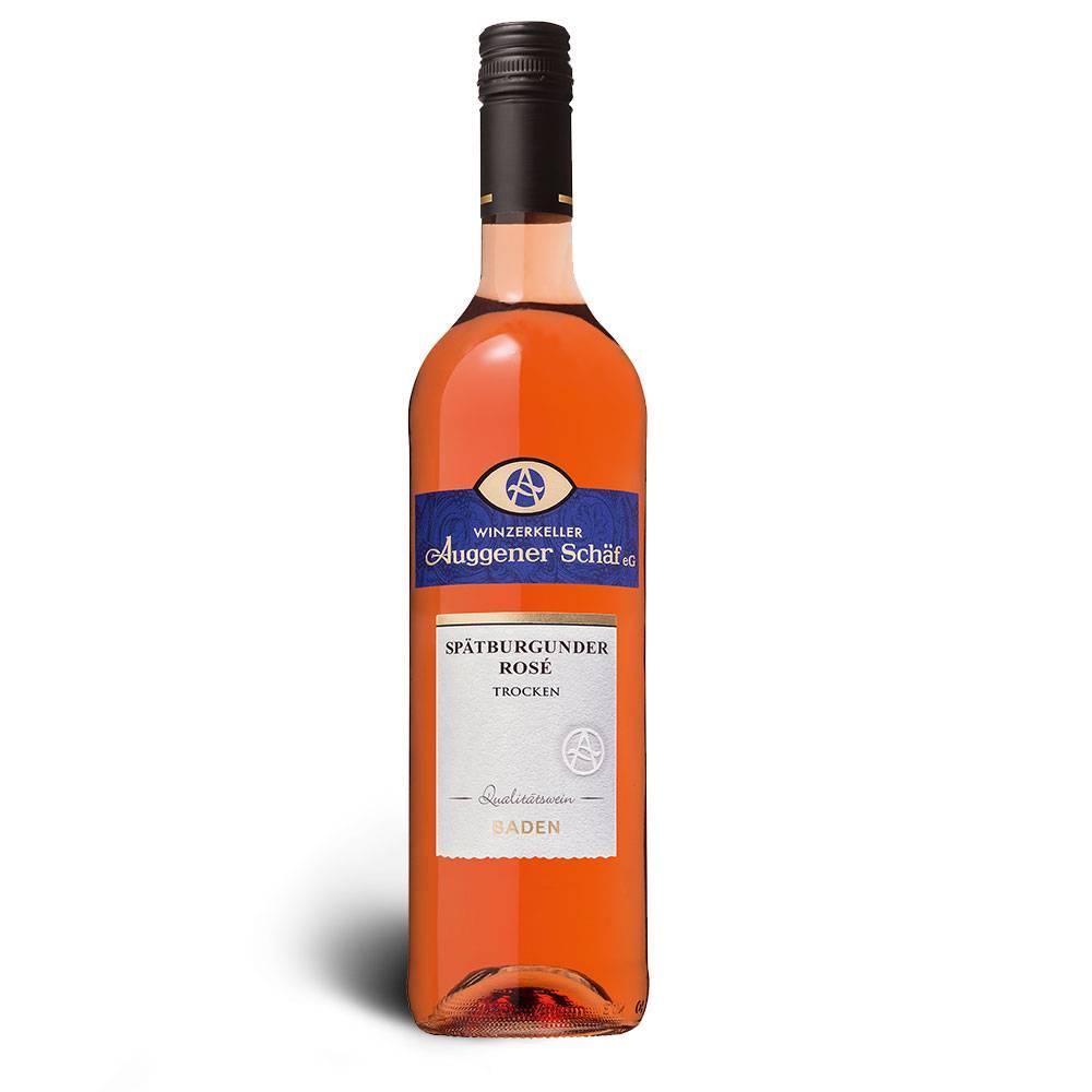 Winzerkeller Auggener Schäf Rosé, Qualitätswein trocken 2016 - Winzerkeller Auggener Schäf