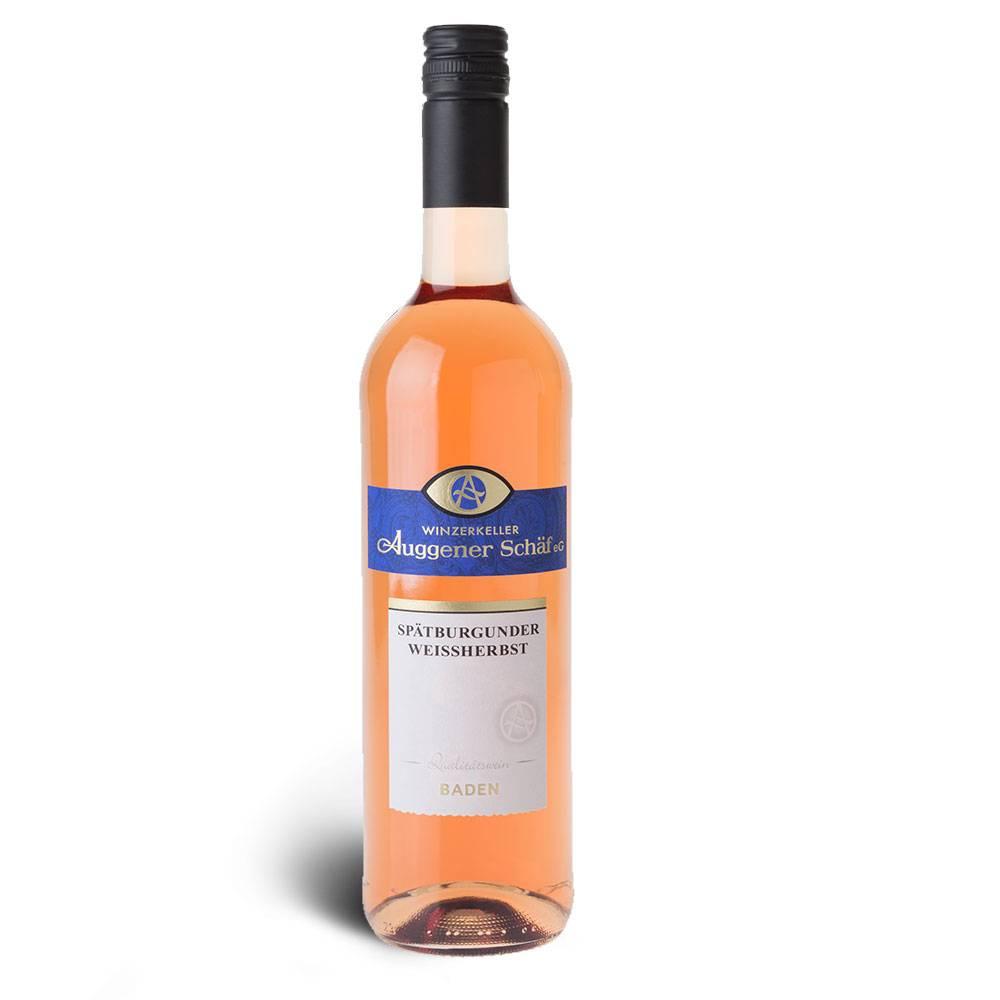 Winzerkeller Auggener Schäf Weißherbst, Qualitätswein 2016 - Winzerkeller Auggener Schäf