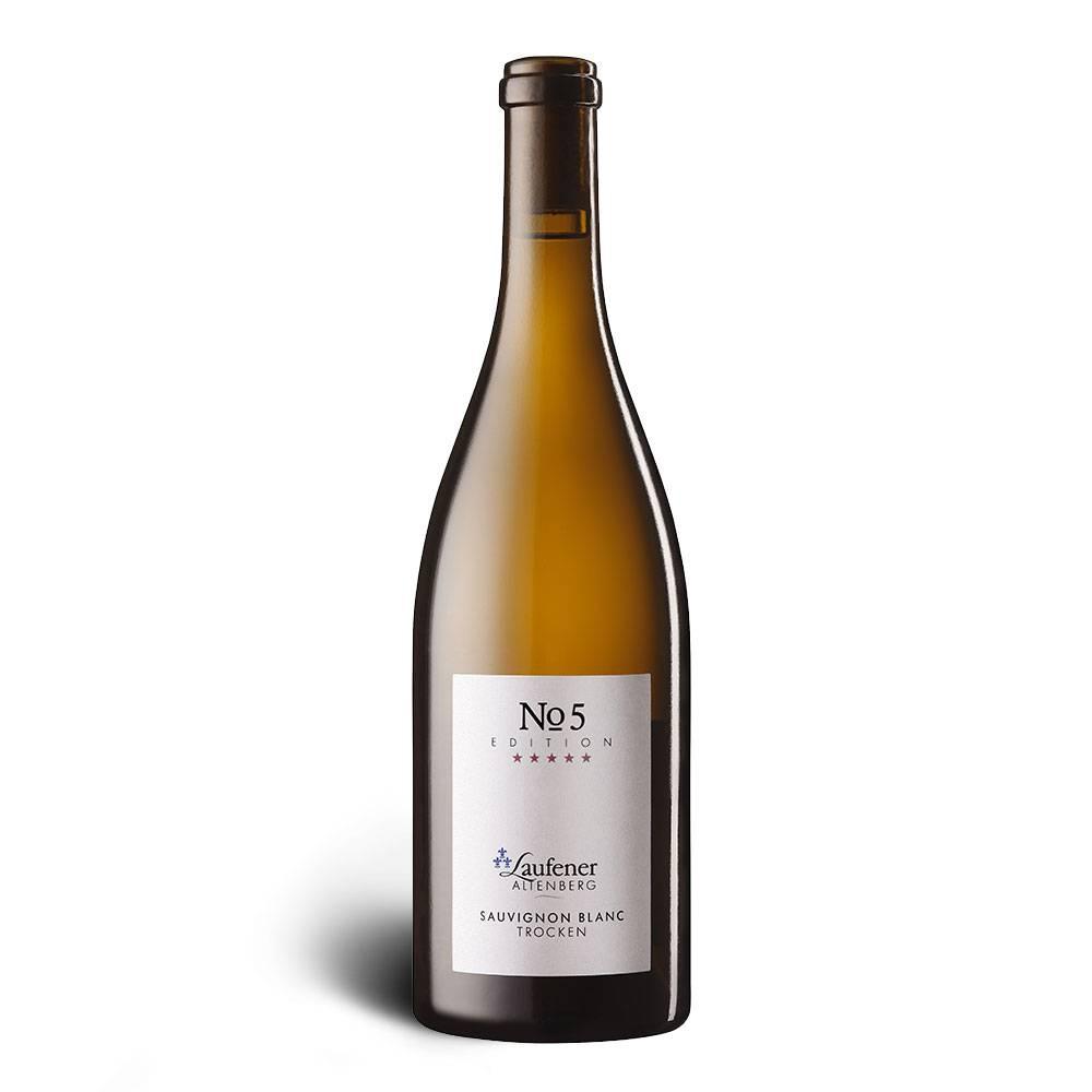 Winzerkeller Laufener Altenberg EDITION »No. 5« Sauvignon blanc, Qualitätswein, trocken 2016 - Winzerkeller Laufener Altenberg