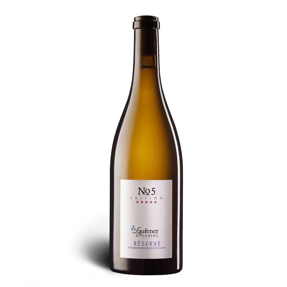 Winzerkeller Laufener Altenberg EDITION »No. 5« Réserve Cuvée weiß, Qualitätswein, trocken 2015 - Winzerkeller Laufener Altenberg