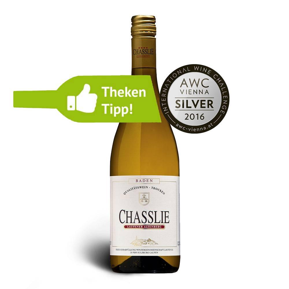 Winzerkeller Laufener Altenberg Gutedel CHASSLIE 2017 Qualitätswein trocken - Winzerkeller Laufener Altenberg
