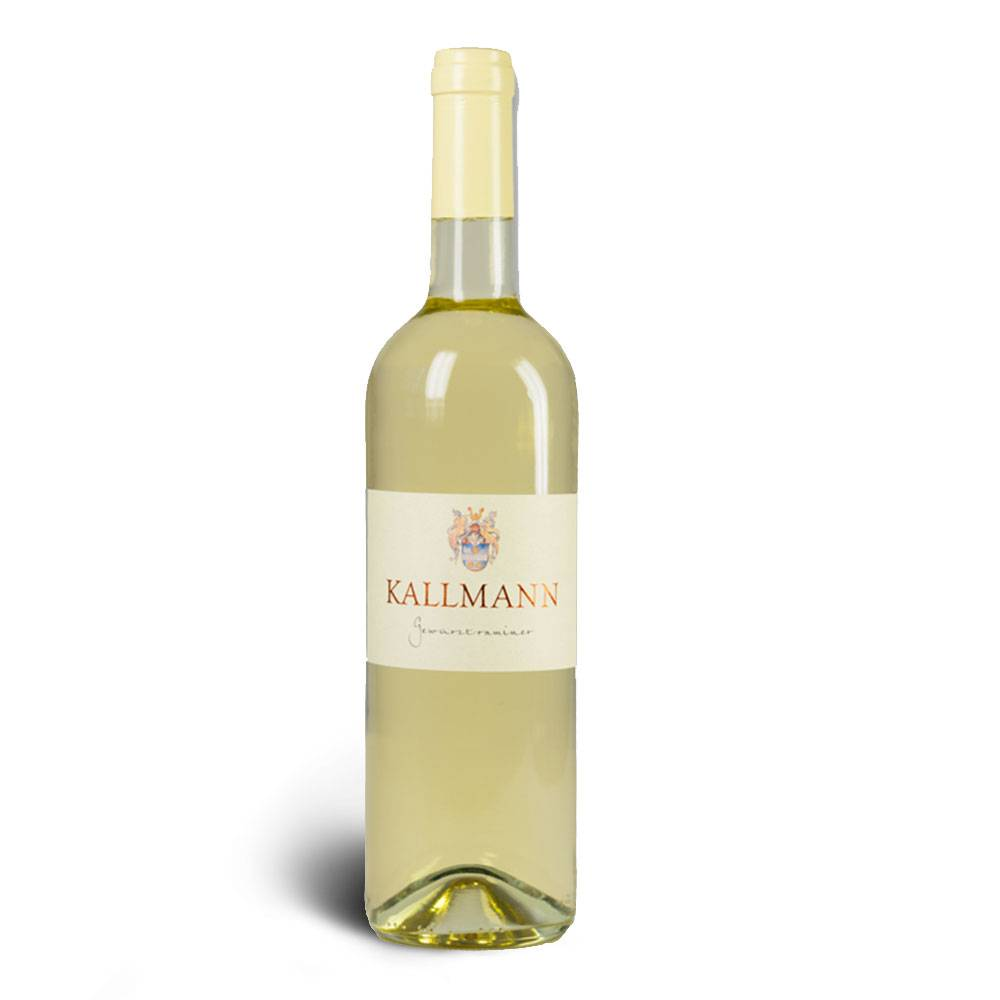 Weinbau Kallmann Gewürztraminer 2017 , lieblich 0,5 L - Weinbau Kallmann
