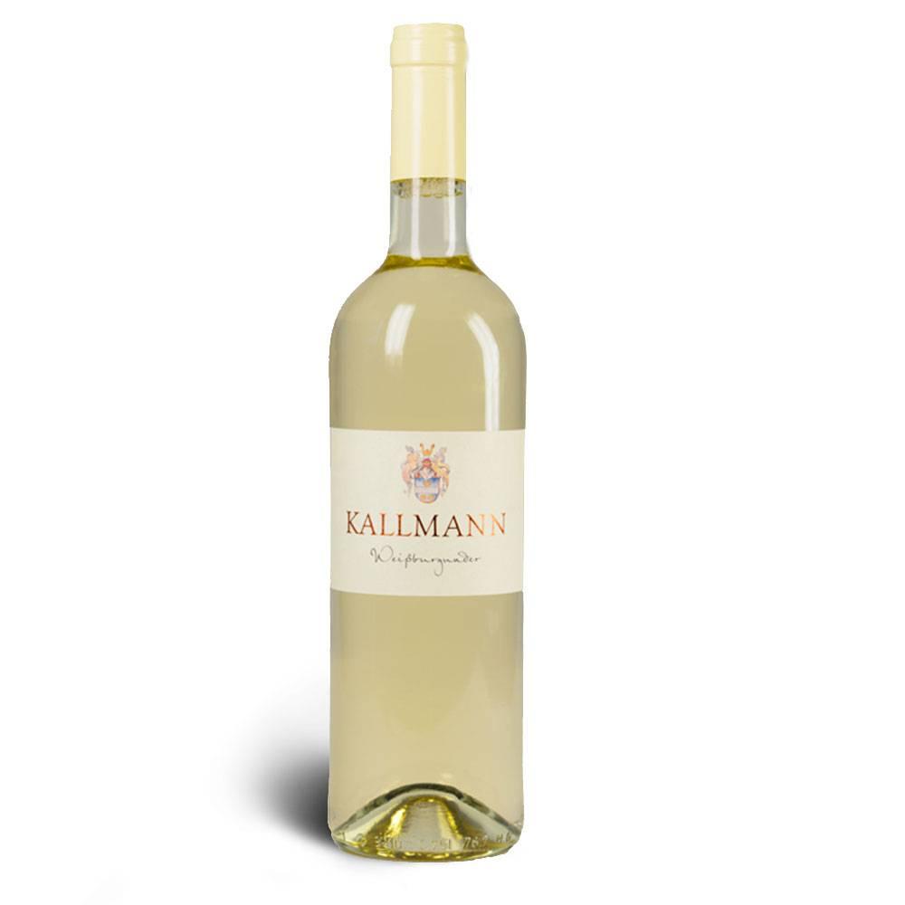 Weinbau Kallmann Weissburgunder, halbtrocken 2015 - Weinbau Kallmann
