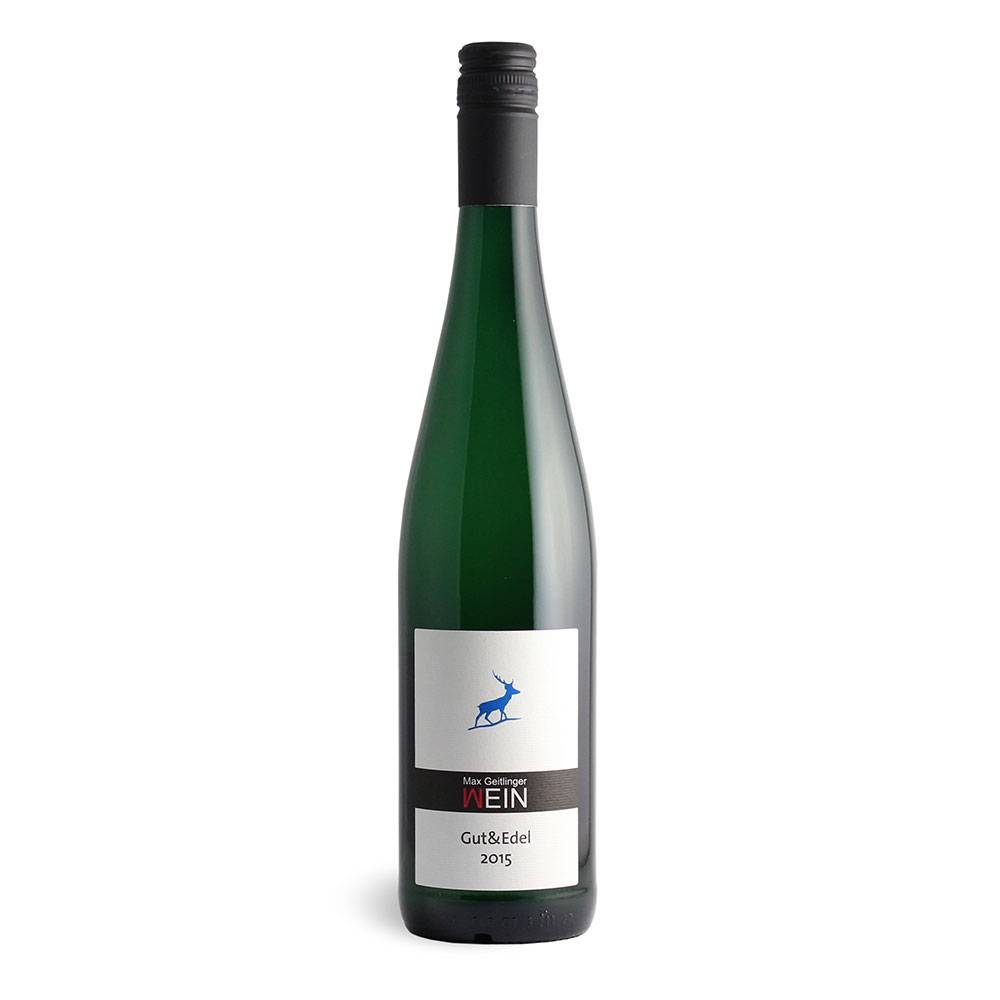 "Weingut Max Geitlinger Gutedel Sponti  ""GUT & EDEL"" trocken, spontan vergoren 2015  – Weingut Max Geitlinger"