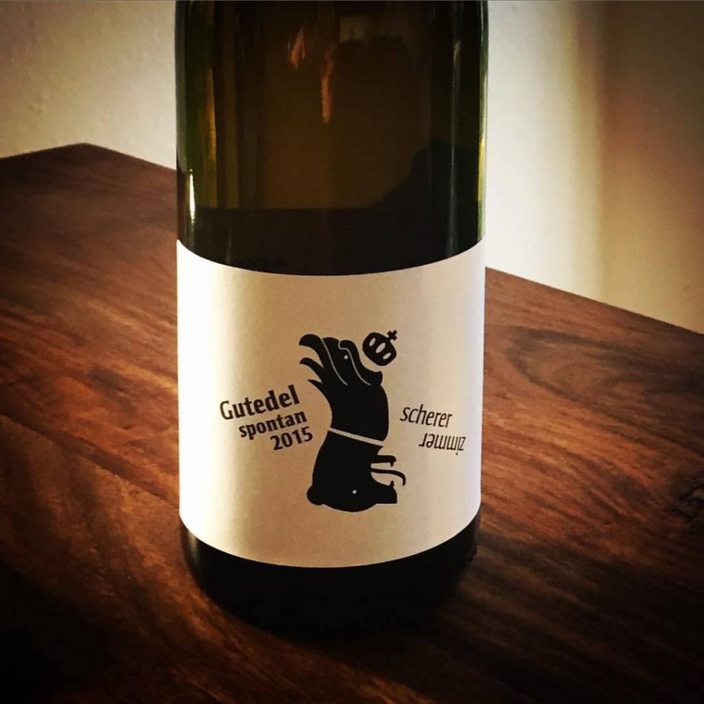 Weingut Scherer Gutedel SPONTAN trocken 2015 – Weingut Scherer Markgräflerland