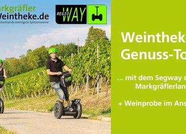"""""""WEINTHEKEN  Genuss-Tour"""" mit dem Segway durchs Markgräflerland"""