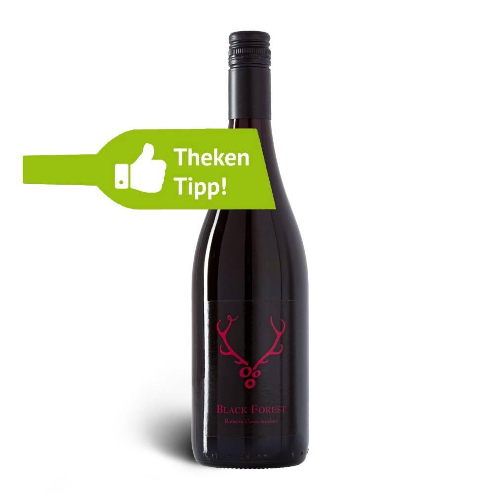 Weingut Löffler  Black Forest Rotwein Cuvée 2016 trocken Qualitätswein trocken, im Hozfass ausgebaut, Badische Goldmedaille