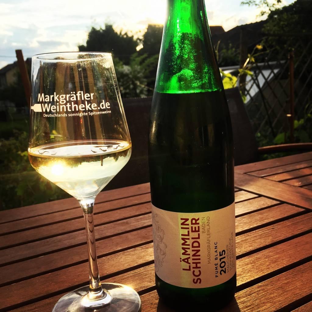 Weingut Lämmlin-Schindler Fumé Blanc (Sauvignon Blanc) trocken 2015 VDP.ERSTE LAGE  - 88 Pt. Gault Millau 2017