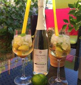 Weinbau Kallmann Gut, Edel, Secco! Sommer-(Mojito)Secco vom Gutedel - Deutscher Perlwein - Weinbau Kallmann