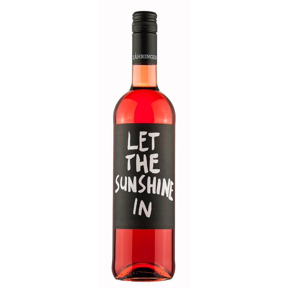 "Weingut Zähringer ""Let the sunshine in"" Rosé trocken 2016 QbA  0,75 Liter- Weingut Zähringer"