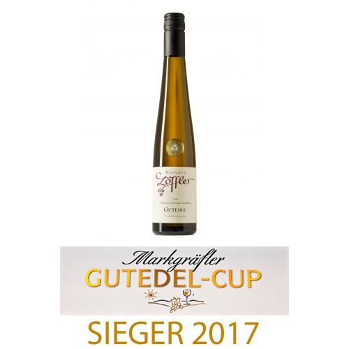 Weingut Löffler 2015er GUTEDEL Trockenbeerenauslese süß, Goldmedaille - Weingut Löffler
