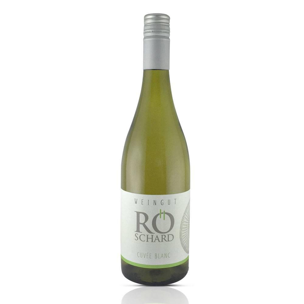 Weingut Röschard 2016er Cuvée Blanc trocken - Weingut Röschard (50% Grauburgunder/Chardonnay im großen Holzfass gereift) - Weingut Röschard