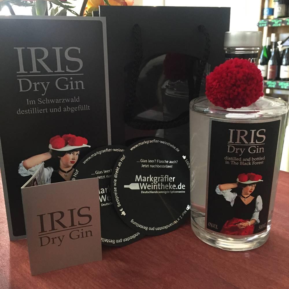 """IRIS Dry Gin - Black Forest  Gin aus dem """"Markgräflerland"""""""