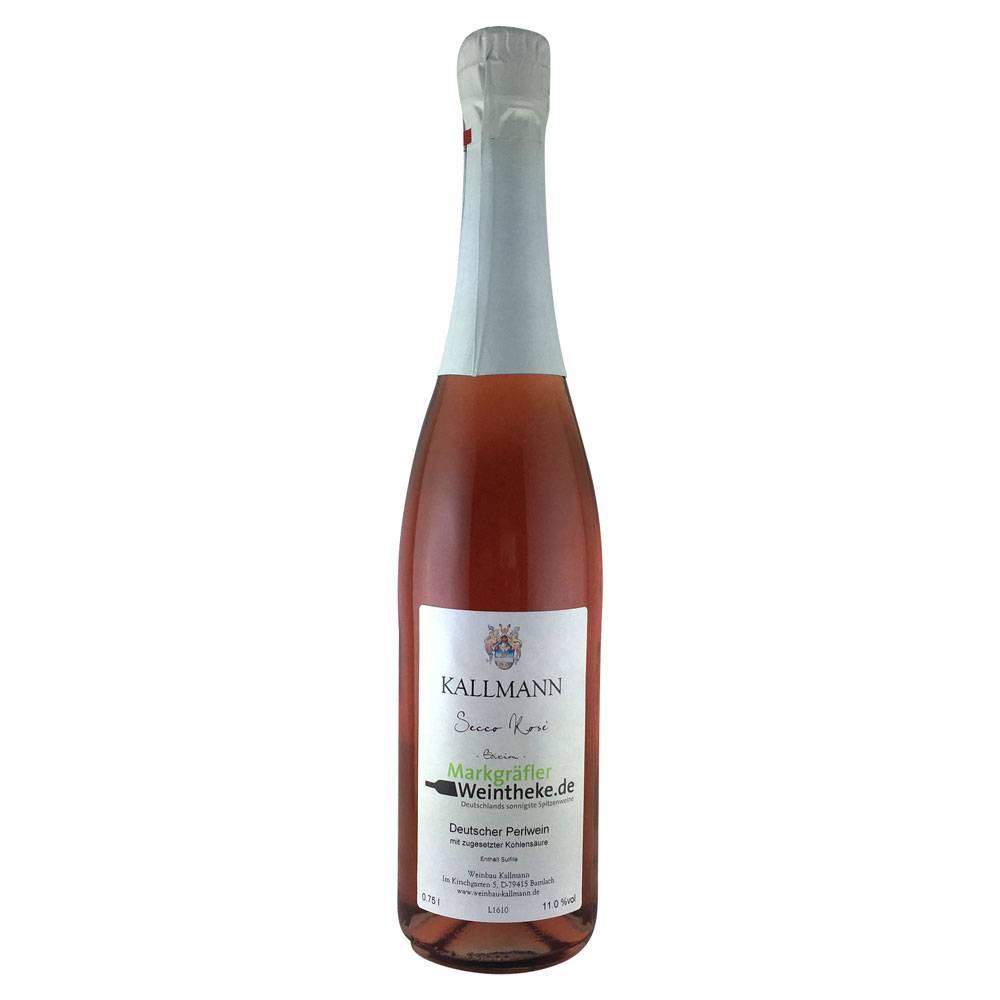 """Weinbau Kallmann Secco Rosé Edition """"Markgräfler Weintheke.de"""" - Weinbau Kallmann"""