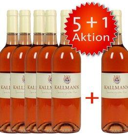 Weinbau Kallmann Spätburgunder Rosé, halbtrocken in der 5+1 Aktion - Weinbau Kallmann