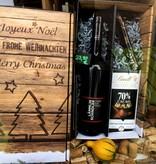Wein & Schokolade Geschenkset - Cabernet Pinot trifft auf dunkle Schokolade