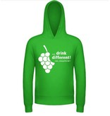 """Drink different"" Hoodie - Grün"