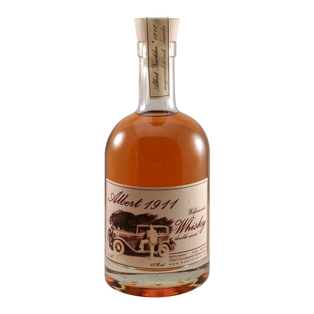 "Whisky ""Albert 1911"" Double Wood - Böttchehof Markgräflerland"