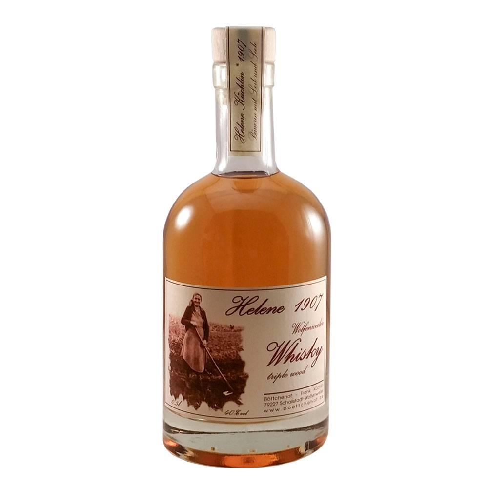 "Whisky ""Helene 1907"" Tripple Wood  - Böttchehof Markgräflerland"