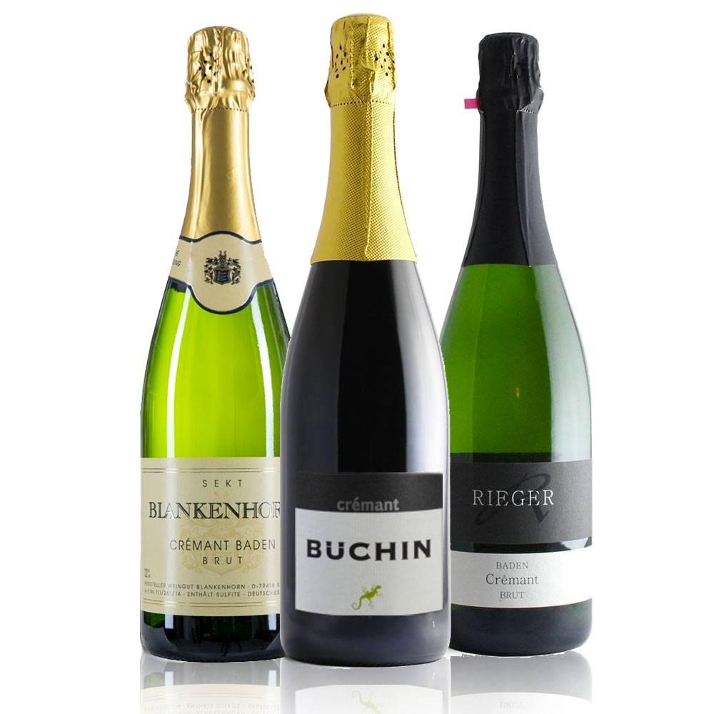 Cremant Festtags-Paket - Weingut Büchin, Rieger und Blankenhorm