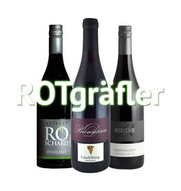 """ROTgräfler"" - 3er Weinabo"