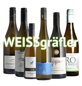 """""""WEISSgräfler"""" - 6er Weinabo"""