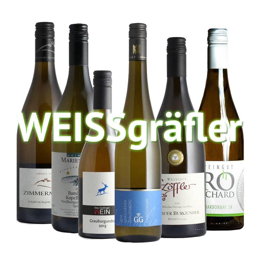 """""""WEISSgräfler"""" - 6er Monats-/Quartals-Weinabo"""