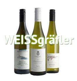 """""""WEISSgräfler"""" - 3er Weinabo"""