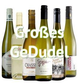 """Großes GeDudel"" - 6er Gutedel Weinabo"