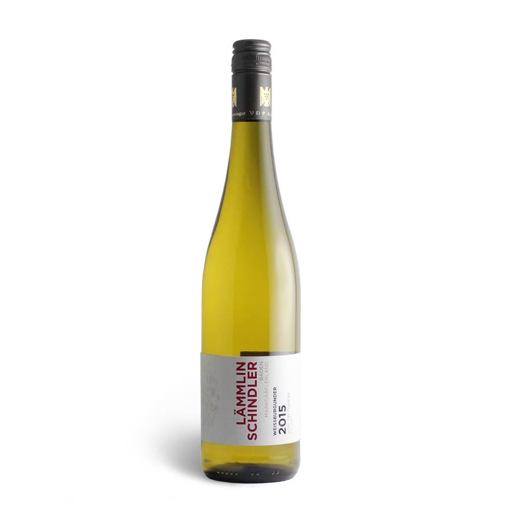 Weingut Lämmlin-Schindler Weißburgunder VDP Ortswein– trocken 2016/2017 -  Lämmlin Schindler, 85 Pt. Vinum Weinguide 2018, 88 Pt. SILBER internationaler bioweinpreis