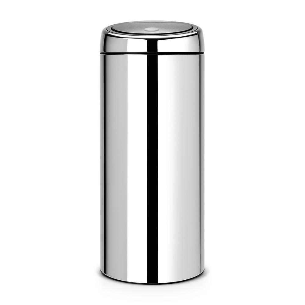 Brabantia Afvalbak 30 Liter.Touch Bin 30 Liter Afvalemmer Ikshop